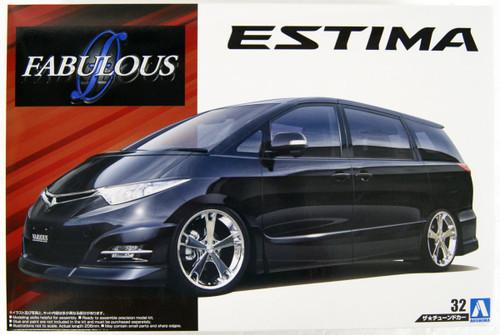 Aoshima 53638 FABLOUS VARIOUS GSR50 ESTIMA '06 (TOYOTA) 1/24 Scale Kit