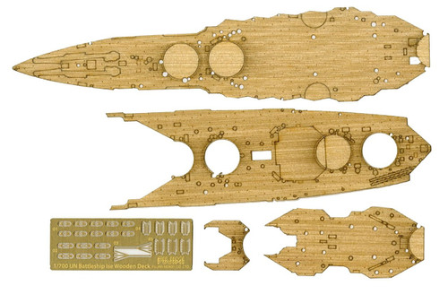 Fujimi 1/700 Gup123 Wooden Deck Parts for IJN Battleship ISE 1/700 scale