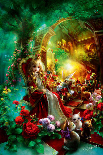 APPLEONE Jigsaw Puzzle 300-331 SHU Queen Alice (300 Pieces)