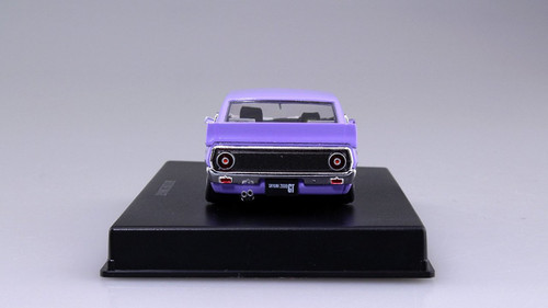 Aoshima DISM 80474 Nissan Skyline Custom Style Purple 1/43 scale model
