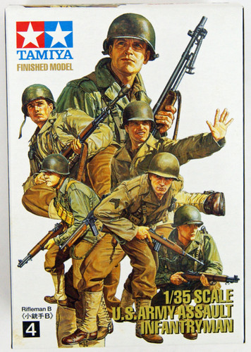 Tamiya 26009 Figure Collection U.S. Army Assault Infantry Model 1/35 Scale