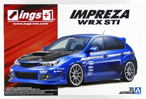 Aoshima 54239 ings GRB IMPRESA WRX STI '07(SUBARU) 1/24 scale kit