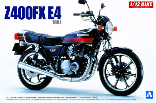 Aoshima 54291 Bike 46 KAWASAKI Z400FX E4 1/12 scale kit