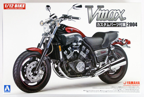 Aoshima 54307 Bike 47 YAMAHA Vmax with CUSTOM PARTS 1/12 Scale Kit