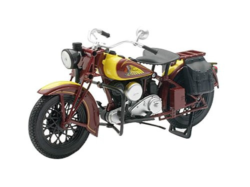 Aoshima Skynet 03913 1934 INDIAN SPORT SCOUT 1/12 scale Finished Model