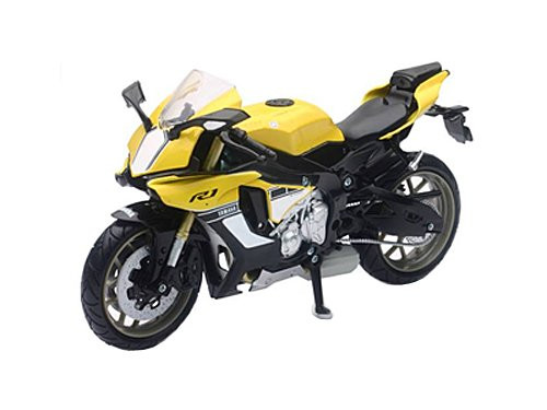Aoshima Skynet 03920 YAMAHA YZF-R1 2016 YELLOW 1/12 scale Finished Model
