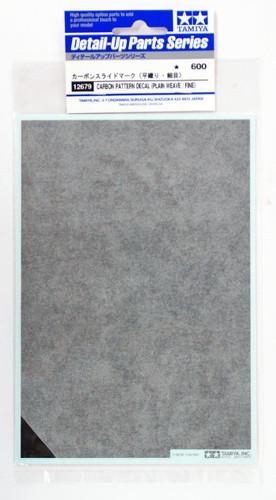 Tamiya 12679 Carbon Pattern Decal Set Plain Weave/Fine