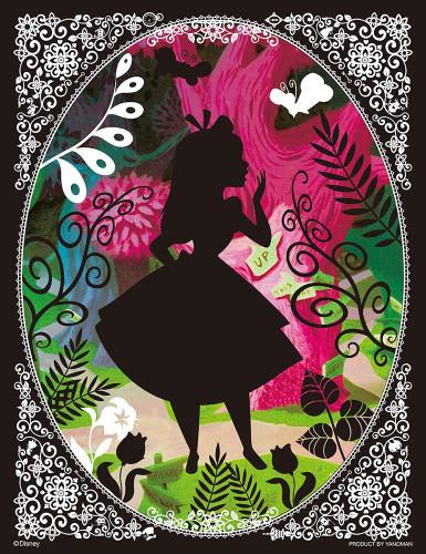 Yanoman Jigsaw Puzzle 42-42 Disney Alice in Wonderland (300 Small Pieces)
