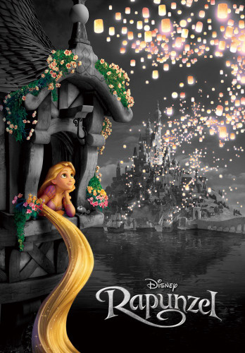 Tenyo Japan Jigsaw Puzzle DF-1000-112 Frost Art Disney Tangled Rapunzel (1000 Pieces)