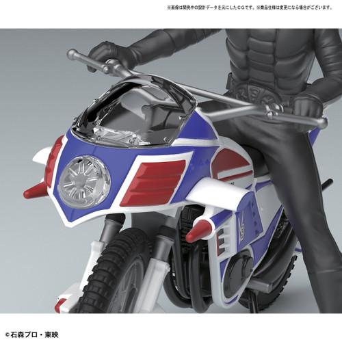 Bandai 184270 Kamen (Masked) Rider HURRICANE non scale kit (Mecha Collection Kamen Rider No.2)
