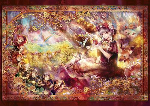 Epoch Jigsaw Puzzle 55-103 Fantasy Art Snow White (216 S-Pieces)