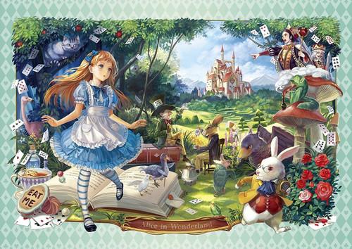 Epoch Jigsaw Puzzle 55-102 Art Alice in Wonderland (216 S-Pieces)