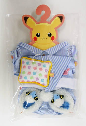 Pokemon Center Original Pikachu's Closet Pajama Costume Set 826-228723