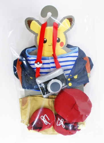 Pokemon Center Original Pikachu's Closet Autumn Costume Set 826-228730