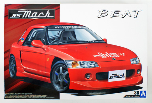 Aoshima 54352 RS MACH PP1 beat '91(Honda) 1/24 Scale Kit
