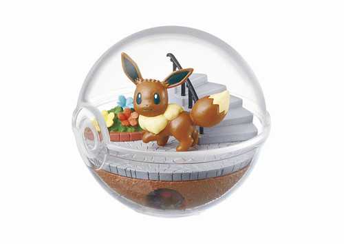 Re-ment 203379 'Pokemon Terrarium Collection' 6 Figure Complete set