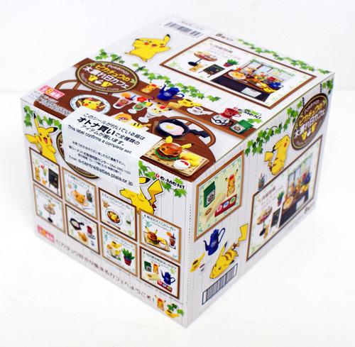 "Re-ment 203256 ""Pokemon Pikachu Komorebi Cafe"" 8 Figure Complete set"