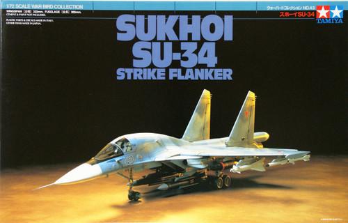 Tamiya 60743 Sukhoi SU-34 Strike Flanker 1/72 Scale Kit
