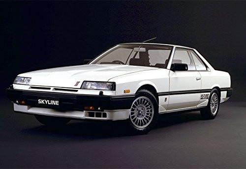 Aoshima 54796 The Model Car 59 Nissan DR30 Skyline HT2000 Turbo Intercooler 1/24 scale kit