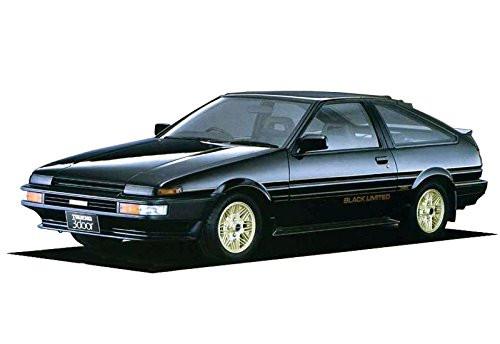 Aoshima 54819 The Model Car SP Toyota AE86 Sprinter Trueno/GT-Apex Black Limited '86  1/24 scale kit