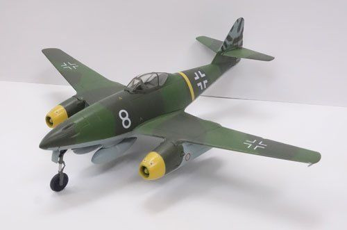 Doyusha 500996 Zero Fighter Type 52 No.12 Messerschmitt Me262A-1a 1/72 Scale Finished Model