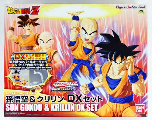 Bandai Figure-Rise Standard Dragon Ball SON GOKOU & KRILLIN DX SET Plastic Model Kit 197638