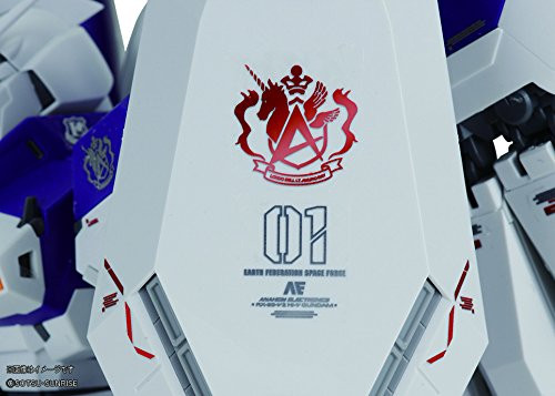 Bandai MG 222422 Gundam RX-93-V2 Hi-V Gundam VersionKa with Special Decal 1/100 Scale Kit