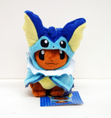 Pokemon Center Original Plush Doll Eevee Poncho Vaporeon (Showers) 1007-228259