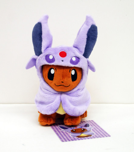 Pokemon Center Original Plush Doll Eevee Poncho Espeon (Eifie) 1007-228280