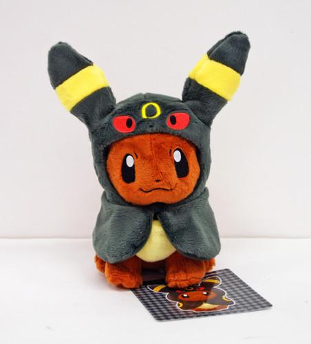 Pokemon Center Original Plush Doll Eevee Poncho Umbreon (Blacky) 1007-228297