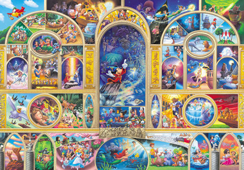 Tenyo Japan Jigsaw Puzzle D-108-988 Disney All Characters (108 Pieces)