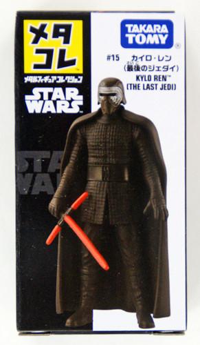 "Takara Tomy Disney Star Wars Metakore Metal Figure #15 Kylo Ren ""The Last Jedi"" 960058"