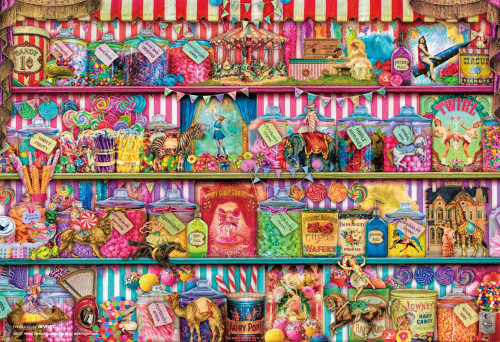 Beverly Jigsaw Puzzle M81-553 Aimee Stewart Sweets Shop (1000 S-Pieces)