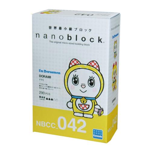 Kawada NBCC-042 I'm Doraemon nanoblock Dorami