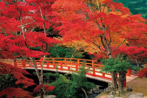 Epoch Jigsaw Puzzle 23-597 Autumn Leaves Momijidani Park Miyajima Hiroshima Japan (2016 S-Pieces)