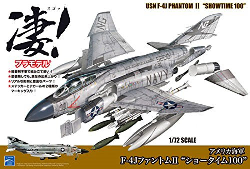 "Doyusha 412602 USN F-4J Phantom II ""Showtime 100"" 1/72 Scale Plastic Kit"