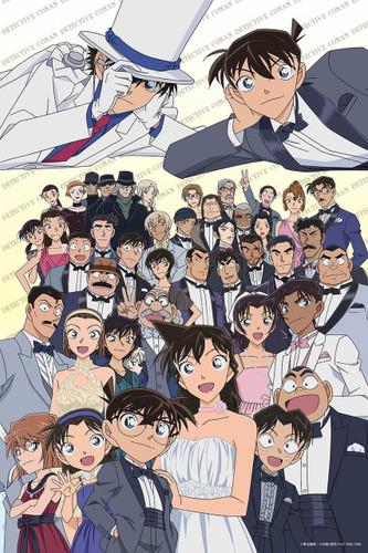 Epoch Jigsaw Puzzle 11-571s Case Closed Detective Conan Dress Up (1000 Pieces)
