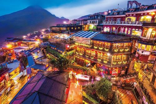 Epoch Jigsaw Puzzle 10-793 Beautiful Scenery Jiufen Taipei Taiwan (1000 Pieces)