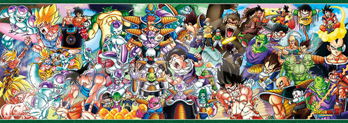Ensky Jigsaw Puzzle 352-89 Dragon Ball Z DRAGONBALL Z CHRONICLES I (352 Pieces)