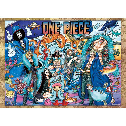 Ensky Jigsaw Puzzle 2000-109 One Piece 20th Anniversary (2000 Pieces)