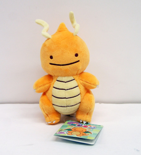 Pokemon Center Original Plush Doll Ditto Dragonite (Kairyu) 1021-231679