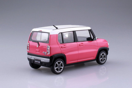 Aoshima 54154 Suzuki Hustler (Candy Pink Metalic) 1/32 scale pre-painted model kit