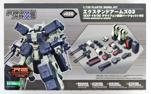 Kotobukiya Frame Arms FA097 Extend Arms 03 (Extend Parts for EXF-10/32 Greifen) RE