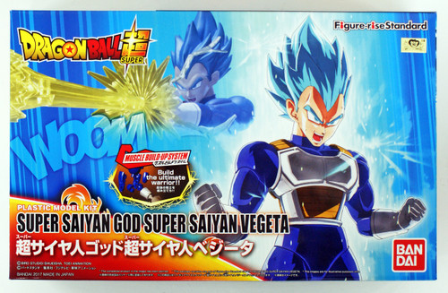 Bandai Figure-Rise Standard 197669 SUPER SAIYAN GOD SUPER SAIYAN VEGETA Plastic Model Kit