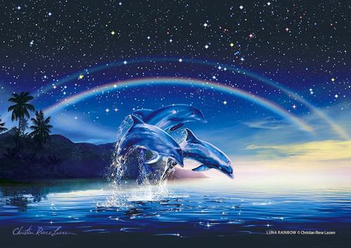 Epoch Jigsaw Puzzle 02-402 Lassen Luna Rainbow (108 Pieces)
