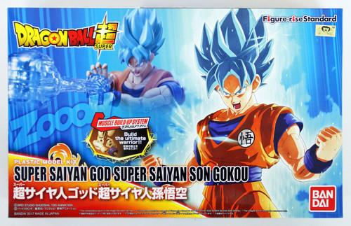 Bandai Figure-Rise Standard 195467 SUPER SAIYAN GOD SUPER SAIYAN SON GOKOU Plastic Model Kit