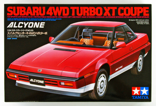 Tamiya 24055 Subaru 4WD Turbo XT Coupe 1/24 scale kit