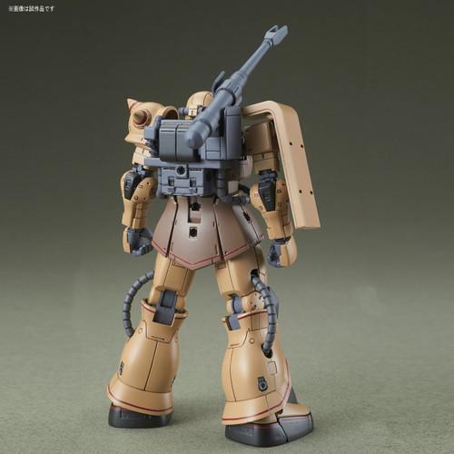 Bandai Gundam The Origin 019 MS-06CK ZAKU HALF CANNON 1/144 Scale Kit