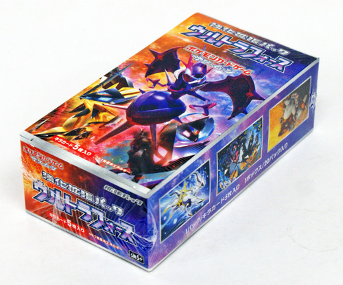 Pokemon Card Game SM5+ SUN & MOON Enhanced Booster Pack Ultra Force BOX