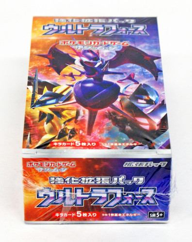 Pokemon Card Game SM5+ SUN & MOON Enhanced Booster Pack Ultra Force BOX